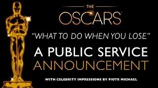OSCARS PSA with 15 Celebrity Impressions 2015