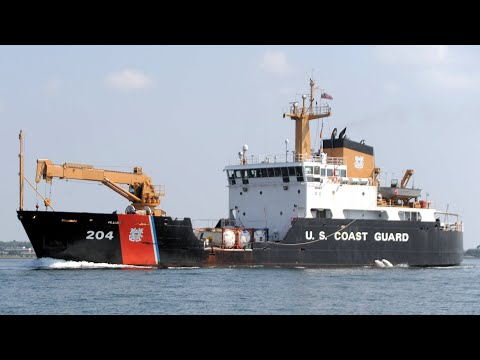 Coast Guard Cutter Elm Tour