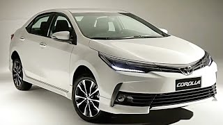 2018 Toyota Corolla Everything You Ever Wanted to See Toyota Corolla 2018 Altis Facelift