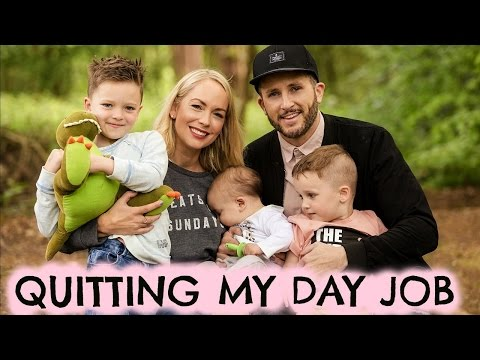 Thumbnail: QUITTING MY DAY JOB | DAY IN THE LIFE OF VLOG