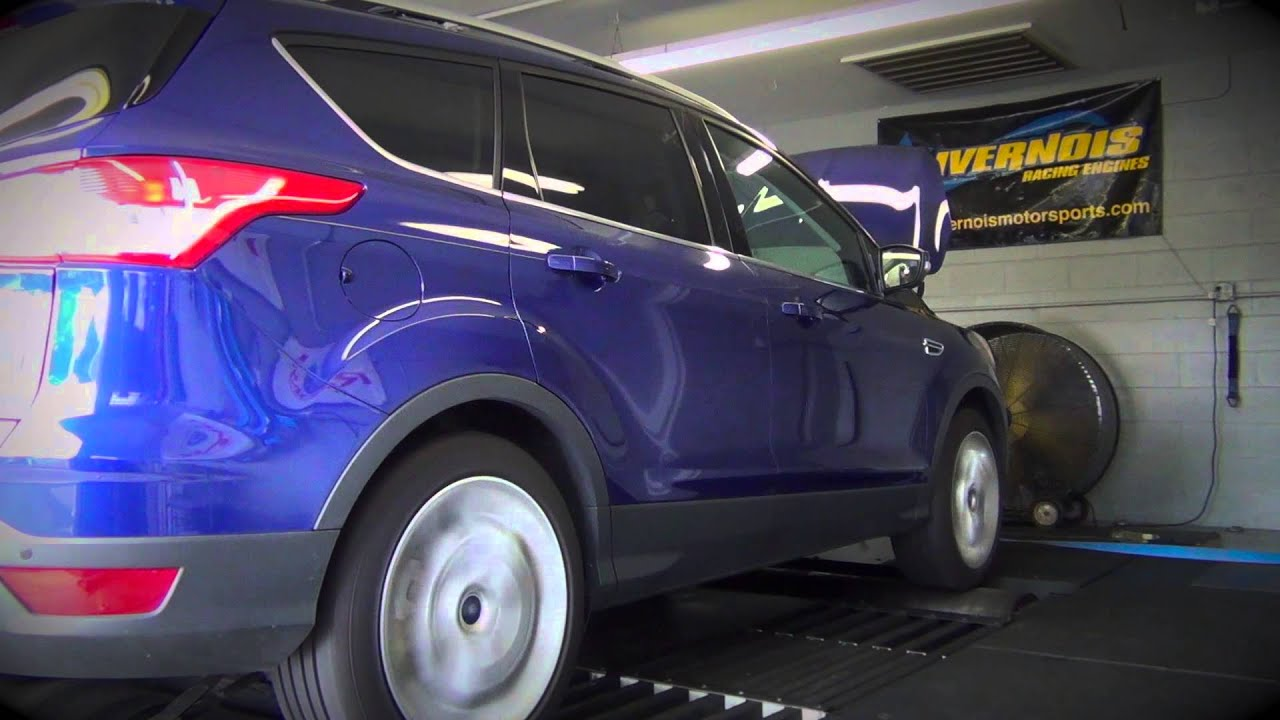 Ford Escape Ecoboost >> 2013 Ford Escape EcoBoost - First To Tune - YouTube