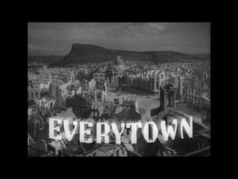 Things to Come (1936) — 'March of War' and the ruins of Everytown