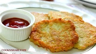 Potato Pancakes - Hash Browns