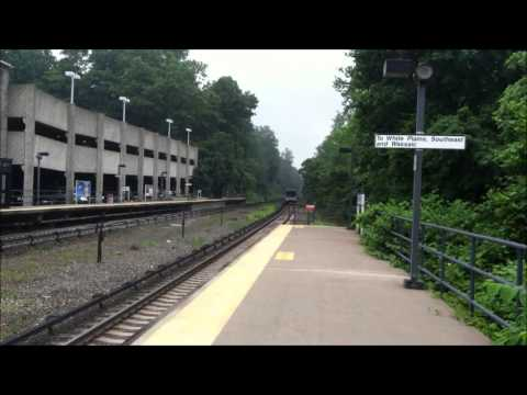 Metro North Harlem Line: Three M7A Trains at Hartsdale