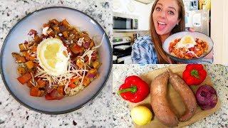 my favorite quinoa veggie recipe!! easy vegan meal prep!