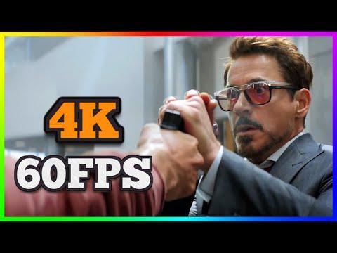 [4K 60FPS] Marvel's Captain America: Civil War - Trailer 2