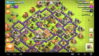 CLASH OF CLANS SRI LANKA KOLLO WE ARE LV 7