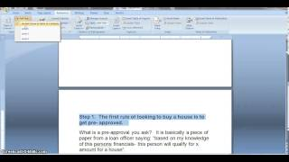 How To Make A Table Of Contents From Word To PDF In Under 3 Minutes !!