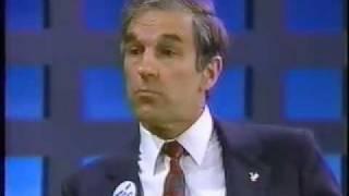 Ron Paul on Morton Downey Jr. - 1988