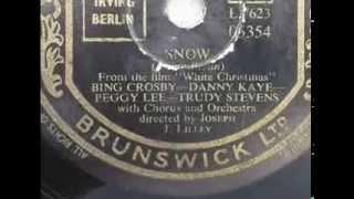 Bing Crosby Snow