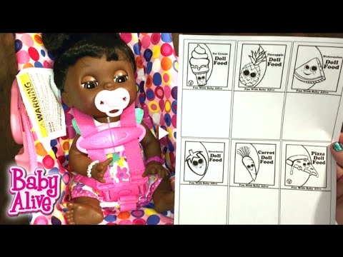Watch on baby alive car seat