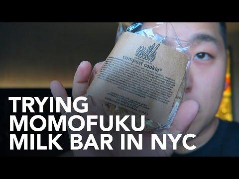 Trying Momofuku Milk Bar in New York
