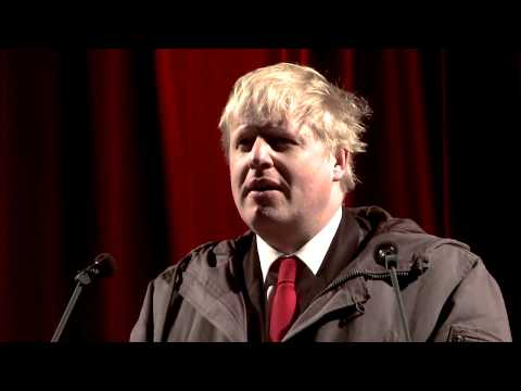 Boris Johnson describes a hangover // Hibrow Literature