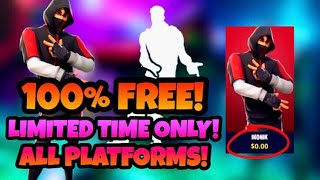 HOW TO GET TΗE IKONIK SKIN FOR FREE! EASY AND SAFE! ALL PLATFORMS!