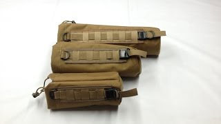 Uses for Cylinder Type Gear Bags w MOLLE