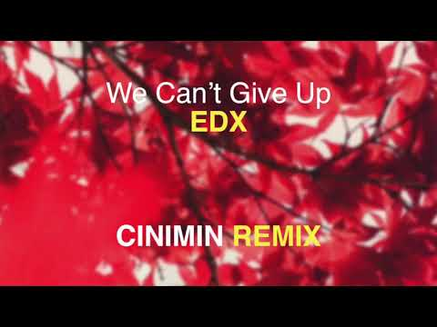 EDX - We Can't Give Up (CINIMIN Remix)