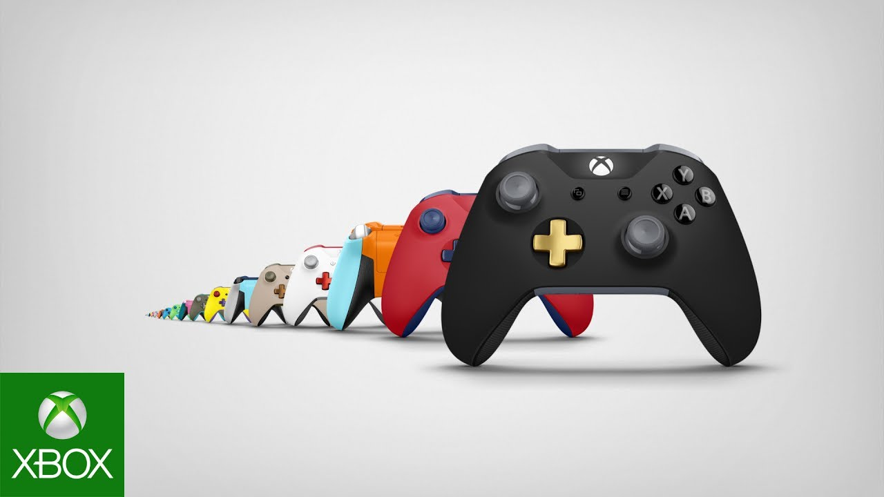Xbox design lab make your controller one in a