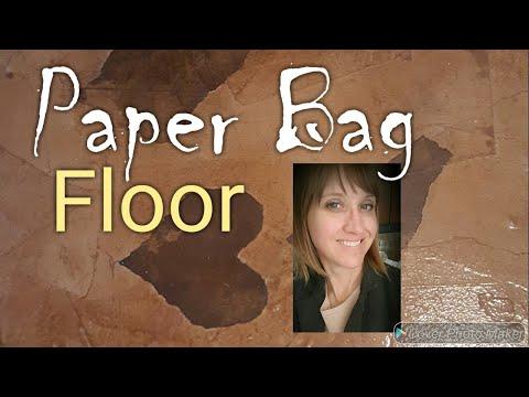 Paper Bag Floor Results in Hallway/ How To...