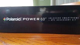 POLAROID POWER 6.0 SMARTPHONE UNBOXING 2016