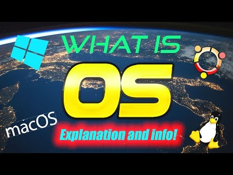 WHAT IS AN OPERATING SYSTEM? OPERATING SYSTEM INFO AND EXPLANATION - Max OS