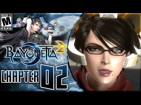 Bayonetta 2: Chapter 2 - A Remembrance of Time - Walkthrough on Nintendo Switch! - 동영상