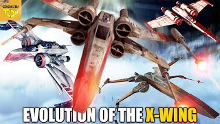 The Evolution of the Xwing Starfighter