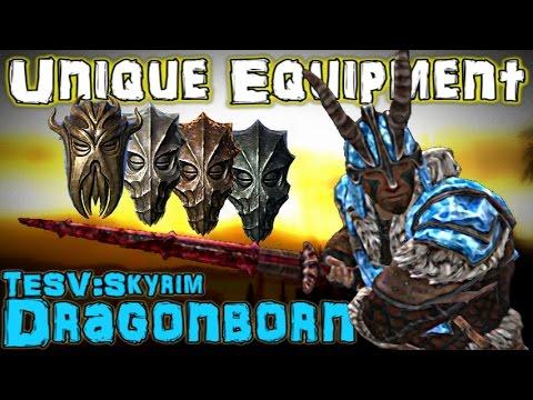 TESV: Dragonborn - Unique Weapons & Armor Guide (DLC)