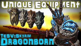 TESV: Dragonborn - Unique Weapons & Armor Guide (DLC)