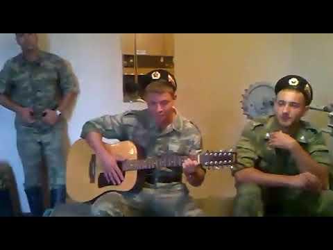 Армейские песни под гитару. Прощай на век защитный цвет...