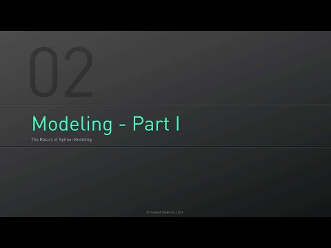 C4D Fundamentals | 02 - Introduction to Spline Modeling
