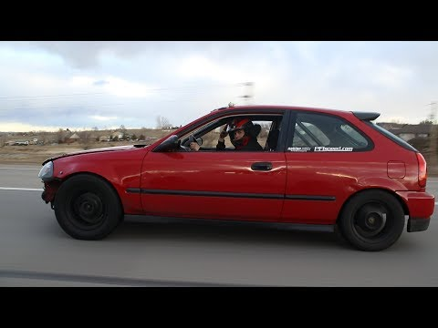 700hp Civic Finally Gets a Roll Cage!