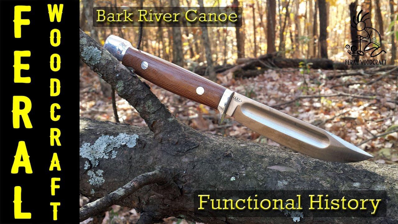 Bark River Knives Canoe Knife Review Youtube