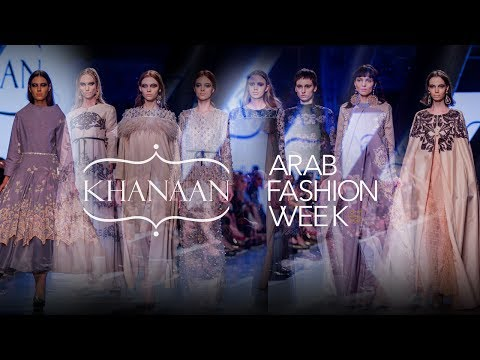 Khanaan Shamlan di Dubai Fashion Week 2017 (Interview)