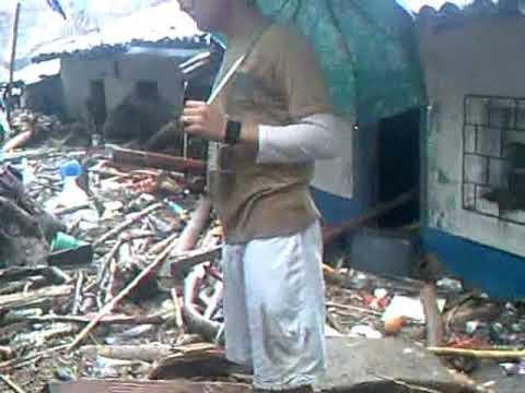 Desastres en San Vicente 8-Nov-2009  Huracan IDA, Deslave del Volcan Chinchontepec