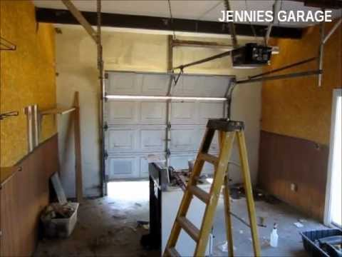 How To Install A Garage Door Opener  First Time For