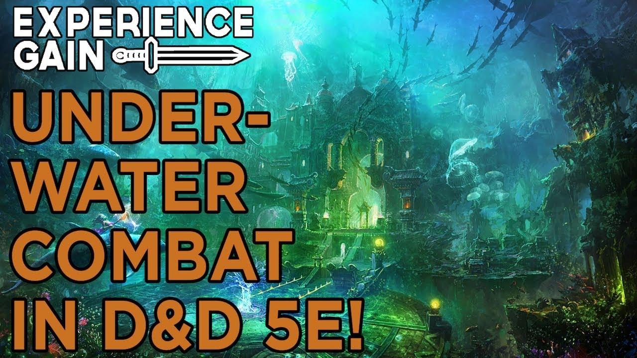 How Underwater Combat Works in D&D 5E!