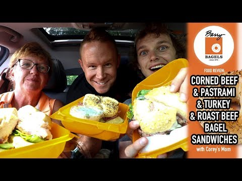 Barry Bagels Sandwiches Food Review in Toledo, Ohio