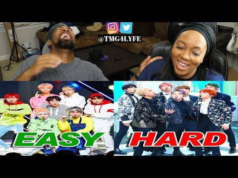 EASY To HARDEST BTS DANCES - REACTION ([BANGTAN BOMB] '고민보다 GO (GOGO)' Dance Practice - BTS (방탄소년단))