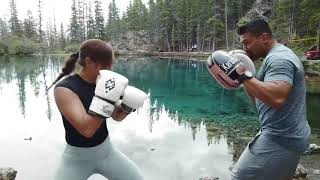 """Michelle Waterson """"The Karate Hottie"""" Training For Her Next Fight"""