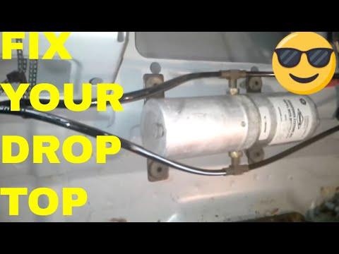Fix/Repair Chrysler Sebring Convertible Top, Hydraulic Motor Fill