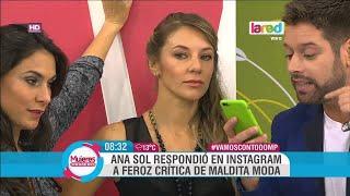 Ana Sol Romero responde críticas por su vestimenta a través de redes sociales