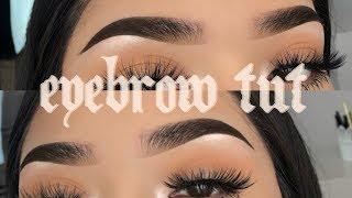 Current Eyebrow Tutorial 2019