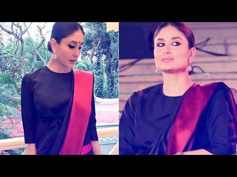 BLACK BEAUTY: Kareena Kapoor's Stunning Look At Bangalore International Film Festival   SpotboyE