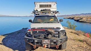 BUSTED - TRUCK CAMPING at Lake Havasu