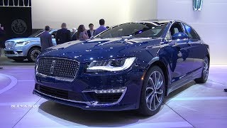 2018 Lincoln MKZ - Exterior And Interior Walkaround - 2018 Detroit Auto Show
