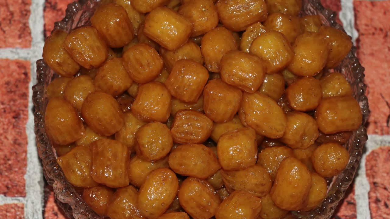 شیرینی بامیه | آموزش آشپزی زیر ۱۰ دقیقه |آشپزی ایرانی | غذای ایرانی | amozesh ashpazi