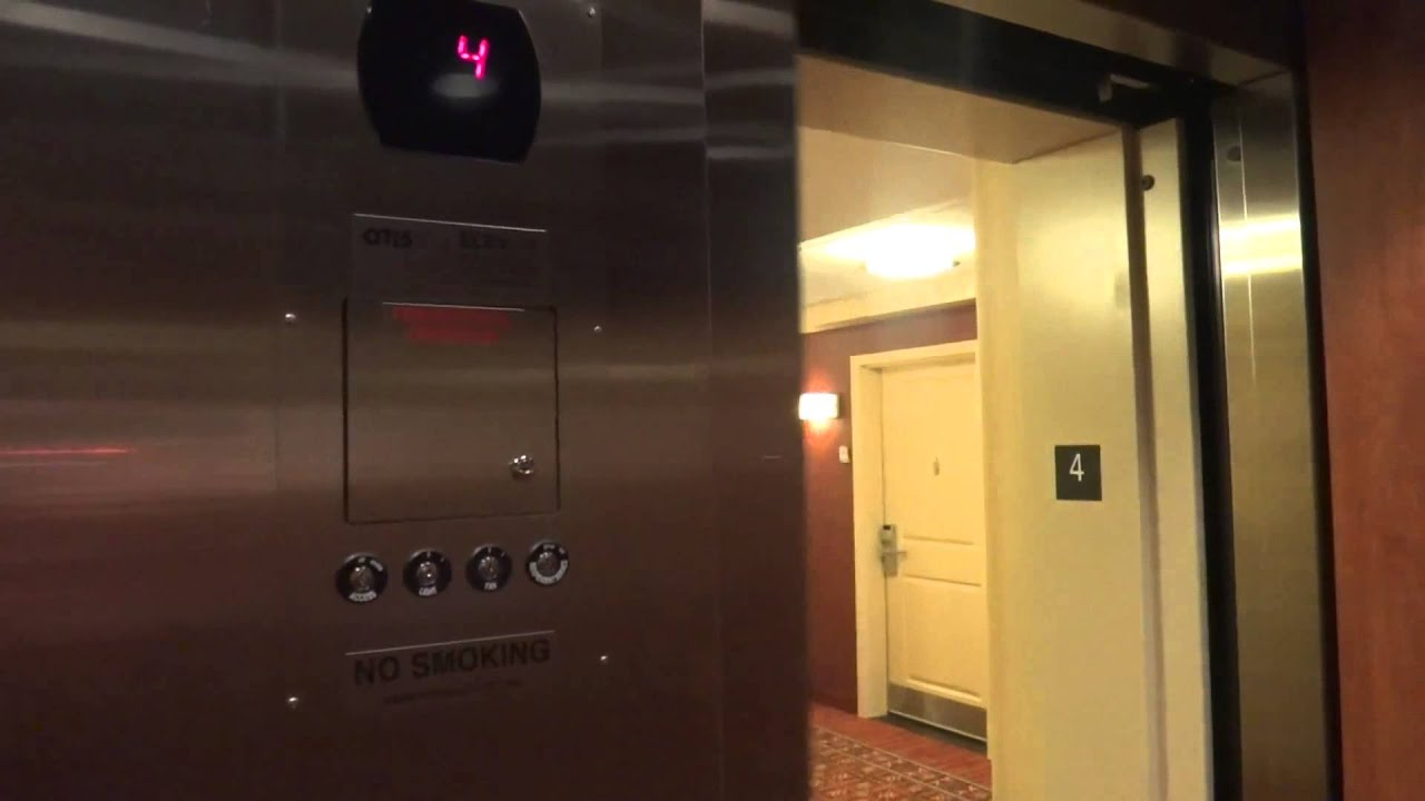 Otis Series 5 Hydraulic Elevator Marriott Residence Inn