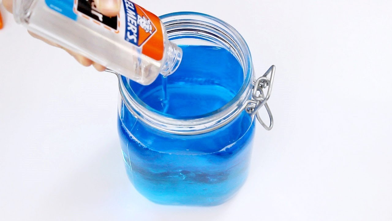 Diy super jiggly bouncy jelly slime making slime backwards make diy super jiggly bouncy jelly slime making slime backwards make barrel o slime without guar gum ccuart Choice Image