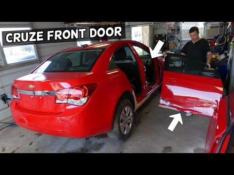 FRONT DOOR REMOVAL REPLACEMENT CHEVROLET CRUZE CHEVY CRUZE