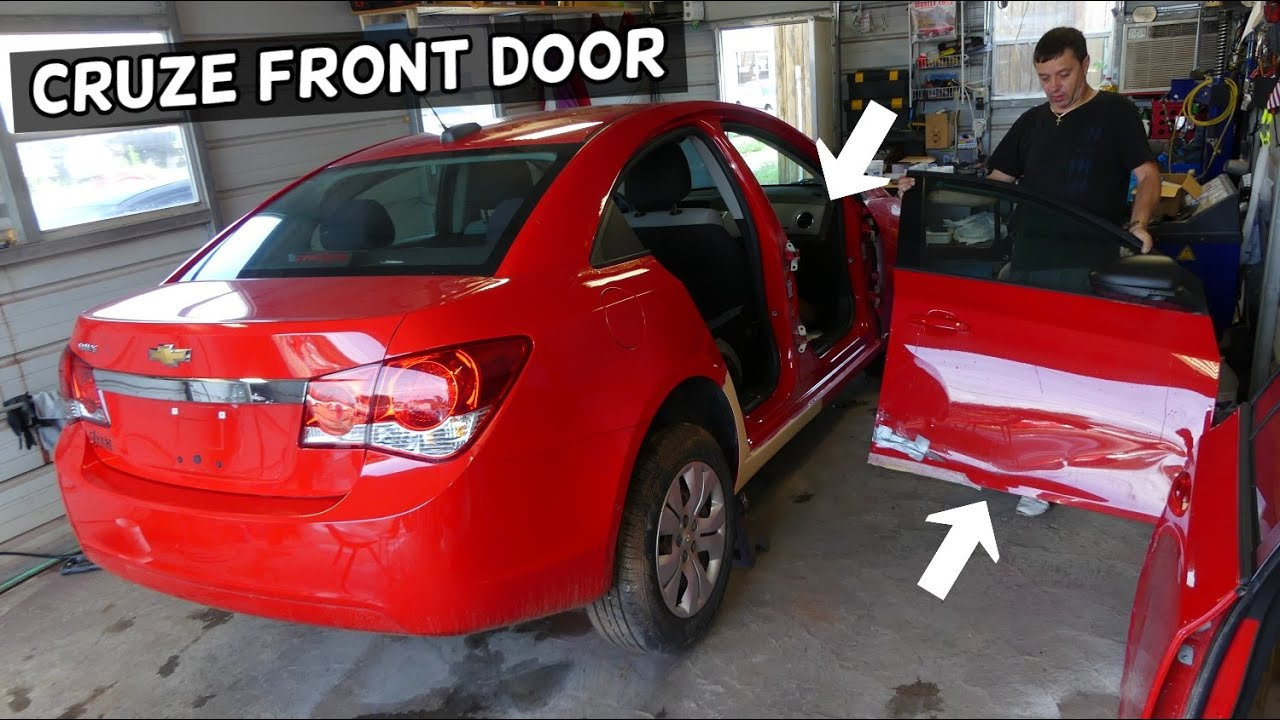 Front Door Removal Replacement Chevrolet Cruze Chevy Cruze Youtube